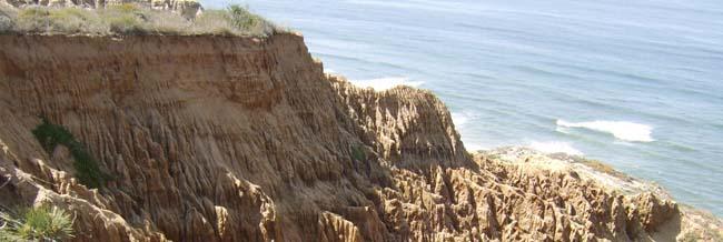 Torrey Pines cliffs 2006
